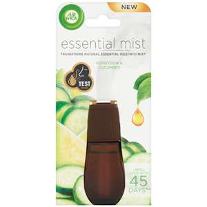 Air Wick Essential Mist Refill - Honeydew & Cucumber £2 @ B&M