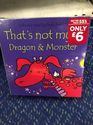 Thats not my Dragon and Monster - £6 at WHSmith, Temple Fortune