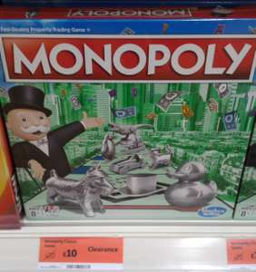 Hasbro Monopoly Board Game - £10 instore Sainsbury's Bicester
