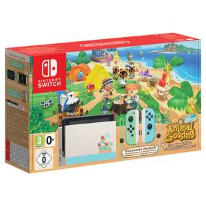 Nintendo Switch Animal Crossing Limited Edition Console £319.99 @ Nintendo Official UK Store