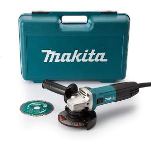 Makita GA4530RKD Angle Grinder Slide Switch, 115 mm, 720 W £48.50 at Amazon