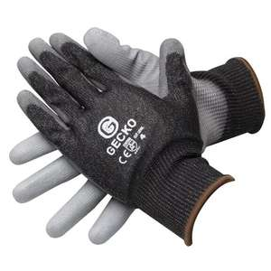 Gecko Cut Resistant gloves - M / XL sizes £1.55 with code @ Euro Car Parts (Free Click & Collect)