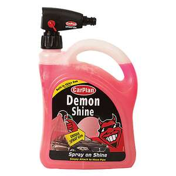 Carplan Demon Shine + Spray Gun Attachment - 2 Litre £3.68, free delivery at Euro Car Parts