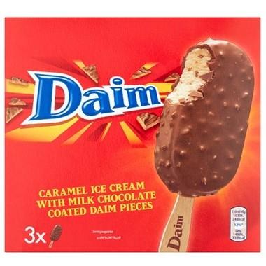 Daim / Oreo / Crunchie / Dairy Milk Ice Cream Sticks x3 99p @ Farmfoods