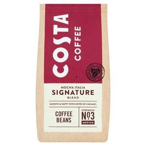 Costa Signature Blend Coffee Beans 200G - £3.70 each or 2 for £4 @ Tesco