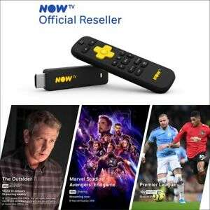 NOW TV Smart Stick with 1 month Entertainment, Sky Cinema & 1 day Sky Sports Passes pre-loaded for £19.50 Delivered @ boss_deals /Ebay