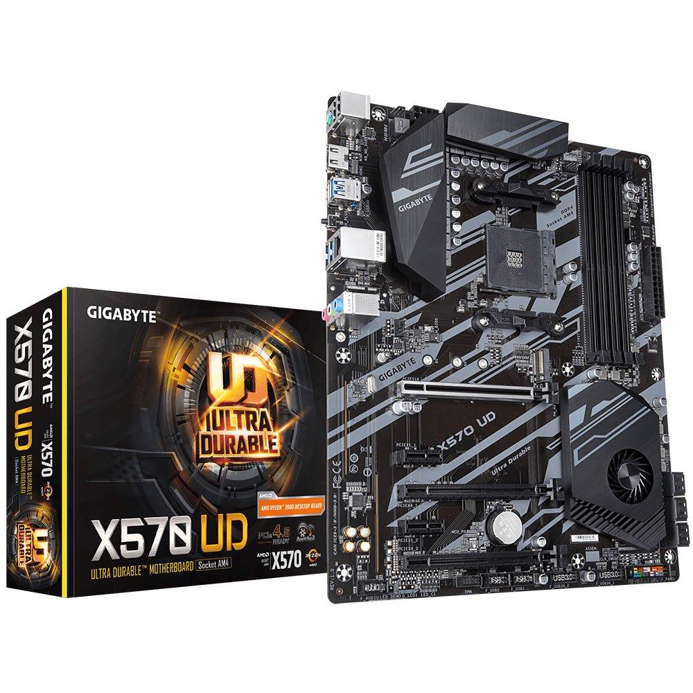 Gigabyte X570 UD AMD AM4 X570 Chipset ATX Motherboard £134.99 at Novatech (Free Gigabyte GP-G750H 750W 80 plus Gold Power Supply)