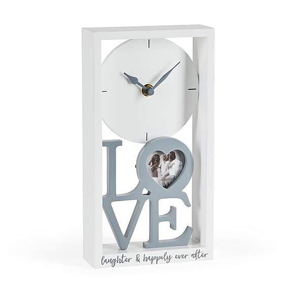 Dunelm - Love Sentiment Clock and Photo - £8.40 - Free C&C