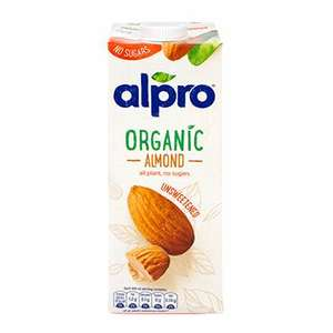Alpro Almond milk unsweetened 1ltr half price - 89p @ H & B (Free Click & Collect). See description for other sample deals.