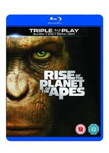 Rise of the Planet of the Apes (Blu-ray and DVD) now £3.69 delivered at Base