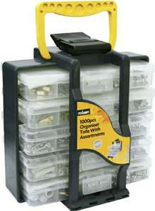 Rolson 1000-Piece Nuts and Bolts Selection in Storage Tote Box £8.99 @ Robert Dyas (use code)