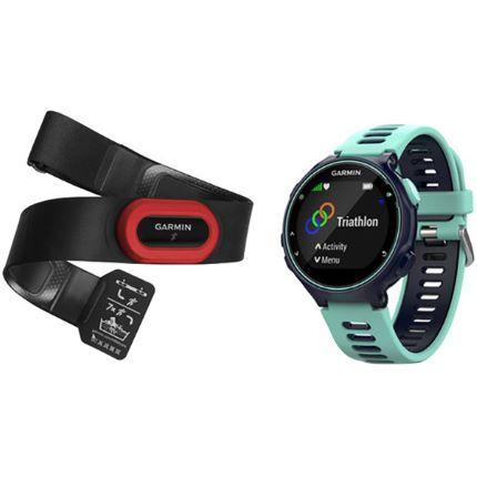 Garmin Forerunner 735XT GPS Blue Watch HRM Bundle - £199.99 @ Wiggle