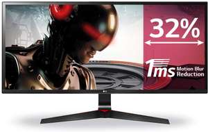 "LG 29UM69G-B 29"" Ultrawide IPS 75Hz 1ms Gaming Monitor (2560x1080, 21:9, HDMI, DP, 250 cd/m2, Freesync) - £191.94 delivered @ Amazon Spain"