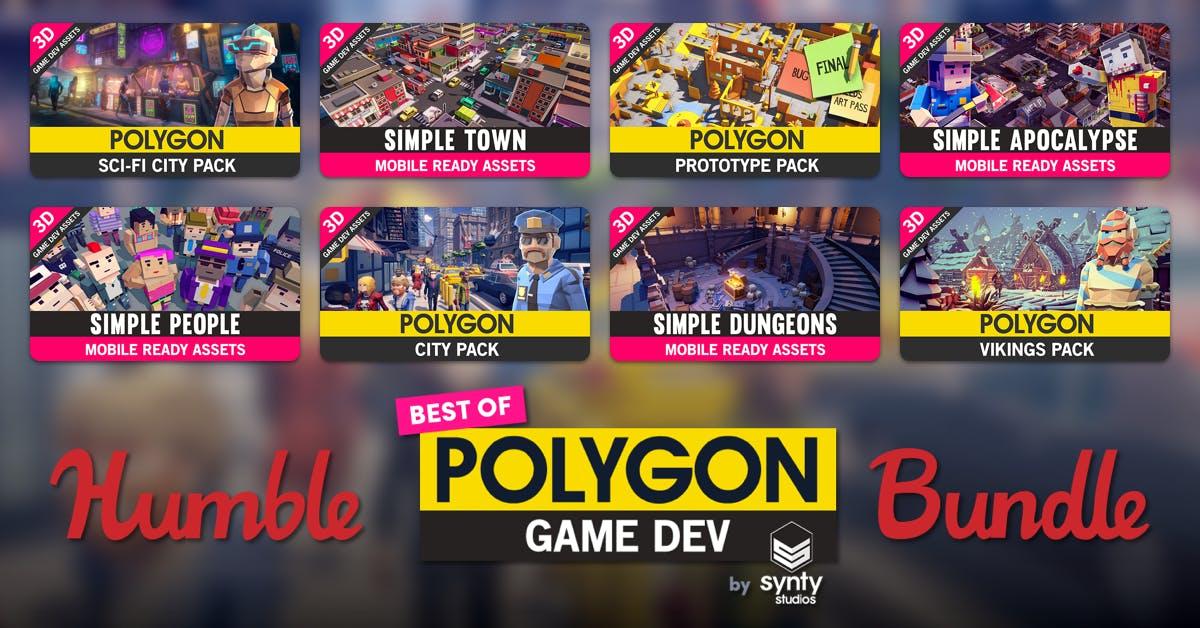 (PC) Polygon Game Dev Bundle From £1 onwards @ Humble Bundle