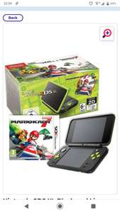New Nintendo 2DS XL with Mario Kart 7 - £99.99 @ Studio (+£4.99 Postage)