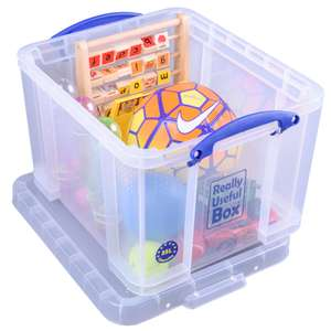 35L Really Useful Stronger Storage Box for £8.80 @ Homebase (20% Off Other Sizes)