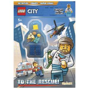 Various LEGO Activity Books £1.99 @The Range instore / +£2 Order & Collect