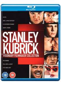 Stanley Kubrick visionary filmmaker collection blu ray £19.99 @ coolshop