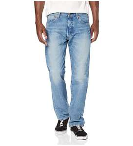 Levi's 501 Mens Jeans, Blue Pipe Subtle £25 delivered from Amazon.
