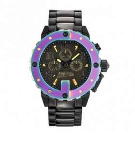 Jean Paul Gaultier Black & Multicoloured Chronograph £49.99 + £1.99 Click & Collect at TK Maxx