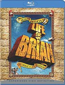 Monty Python's Life of Brian - The Immaculate Edition [Blu-ray] [2007][Region Free] £4.99 (Prime) / £7.98 (non Prime) at Amazon