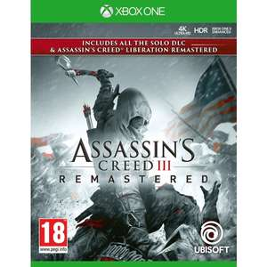 Assassin's Creed III Remastered Xbox One for £10 Free Click and Collect Only @ SmythsToys