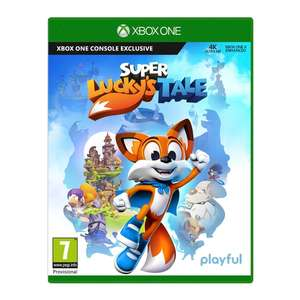 Super Lucky's Tale Xbox One for £7 Free Click and Collect Only @ SmythsToys