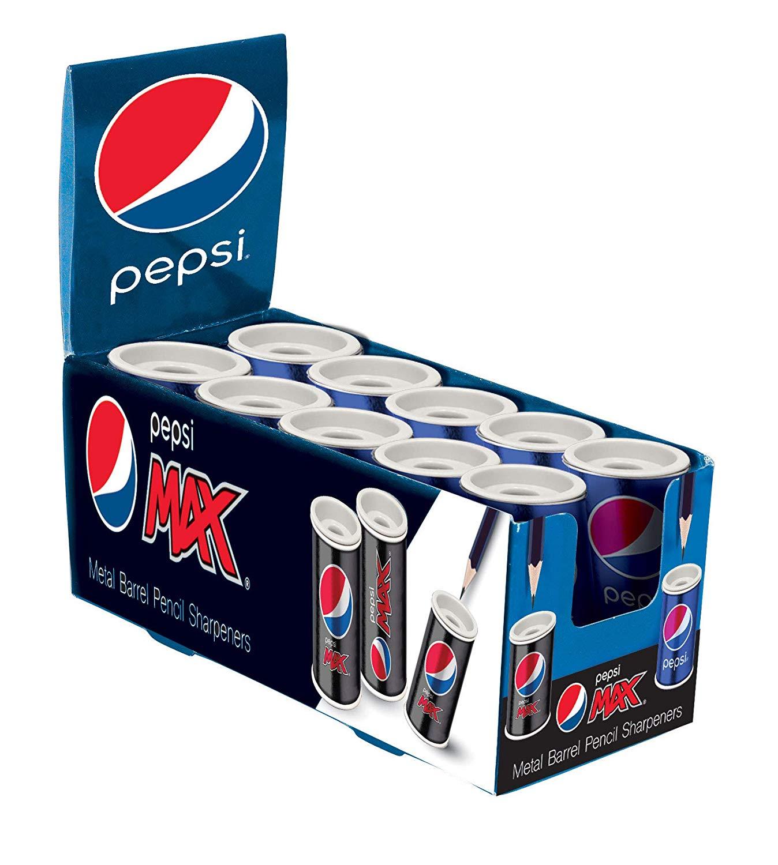 Box of 10 Pepsi pencil sharpeners £3.97 (Prime) delivered at Amazon, £8.97 (non-Prime)