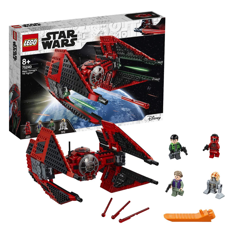 LEGO 75240 Star Wars Major Vonreg's Tie Fighter now £32.49 delivered at Amazon