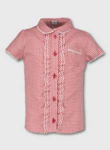 Gingham Uniform from just £2.62 e.g Gingham skirt from £2.62 / School Blouse from £2.62 / 10PK Briefs from £4.12 / Vests 5PK £4.87 @ Argos