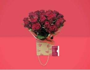 24 Red Rose Bouquet, just £9.99 @ Amazon Treasure Truck