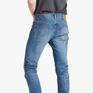 Levi's 501 Slim Tapered Jeans, Ironwood DX (Sizes 30-38) - £28 @ John Lewis & Partners (+£2 Click and Collect)
