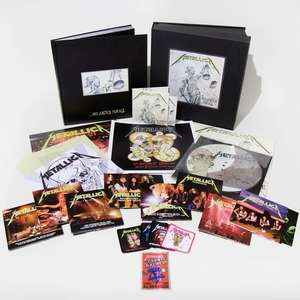 Metallica and justice for all deluxe box set - £89.99 @ HMV