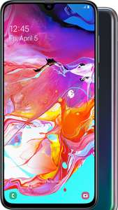 Samsung Galaxy A70 on O2 - 20GB data £31 a month with £384 cashback possible Mobile Phones Direct (£15 month or even less with TCB)