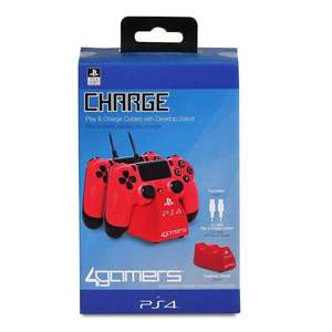 4Gamers PS4 desktop charge stand £5 B&M