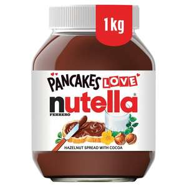 Nutella Hazelnut Chocolate Spread 1Kg £3.50 @ Morrisons