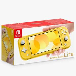 Nintendo Switch Lite, Handheld Console, Yellow, - 2 year guarantee included £169 @ John Lewis & Partners