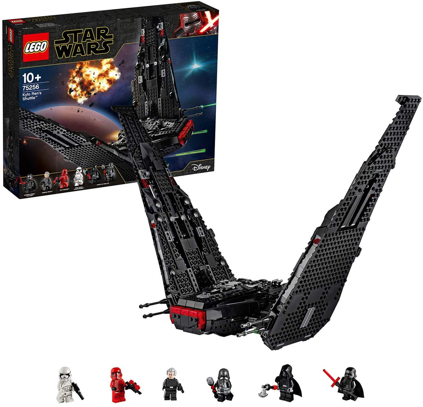 LEGO 75256 Star Wars Kylo Ren's Shuttle Starship Construction Set - £79.99 @ Amazon