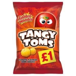 """110g """"share bag"""" of Tangy Toms 49p @ Home Bargains"""