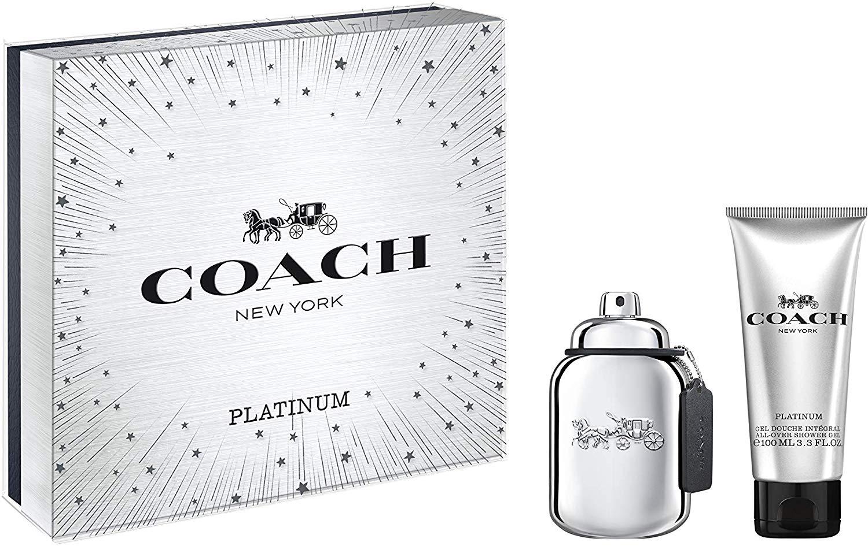 Coach Platinum 60ml EDP gift set for Men - £28 @ Amazon