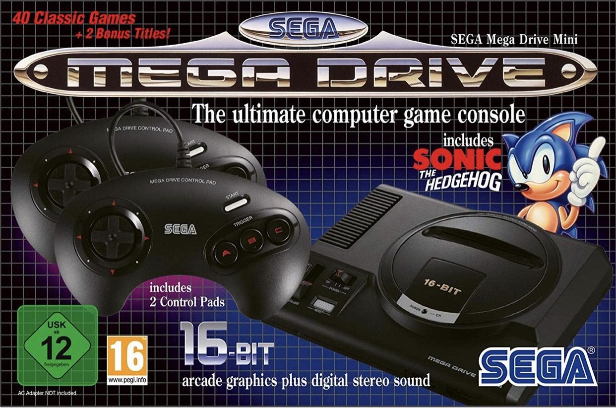 SEGA Mega Drive Mini (£49.58 with prime and using Revolut card) £51.24 @ Amazon Germany