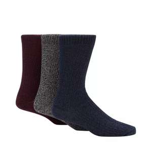 Mantaray - 3 Pack Assorted Boot Socks in a Gift Box £6 delivered at Debenhams (Free next day delivery with code)