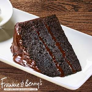 Order any main from Frankie & Benny's Delivery and get a Free Dessert (Chocolate Fudge Cake/ NY Cheesecake) @ Just Eat