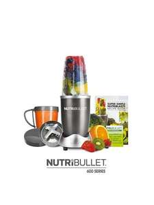 NUTRIBULLET Graphite 600 8-Piece Set £57.99 - Account holders can Spend £60 get £30 Credit @ Very