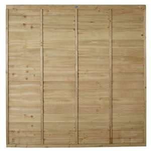 Pressure Treated 6ftx6ft Overlap Fence Panels @ Wickes - Excelsior Road, Cardiff - £5