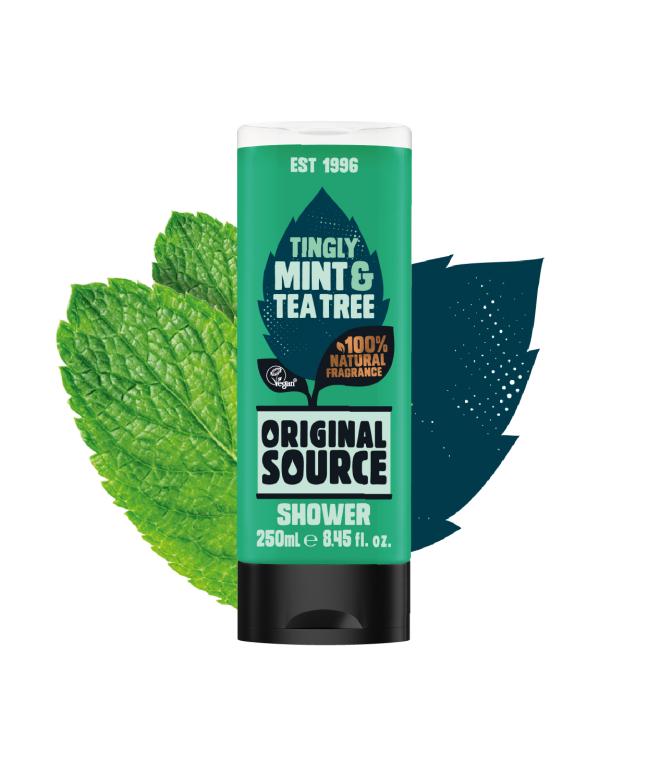 Original Source shower gel 250ml - mint, lemon or coconut 35p instore @ Lidl