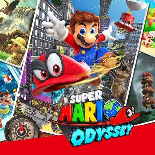 Super Mario Odyssey £33.29 @ Nintendo eShop
