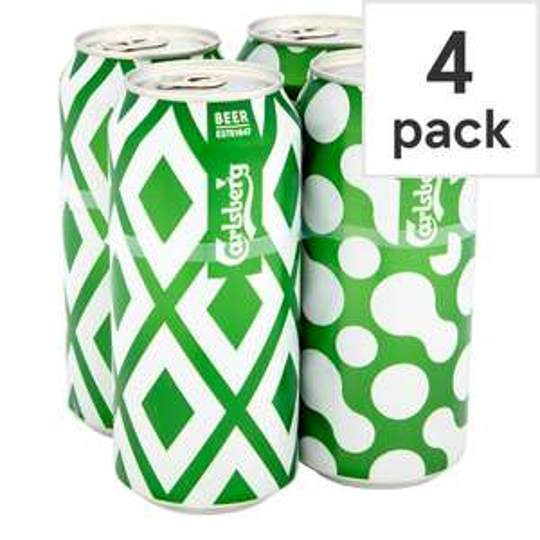Carlsberg Lager Cans 4x440ml £1.88 @ Tesco (Horwich)