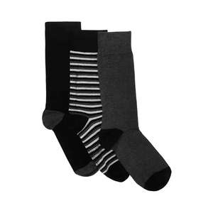 Debenhams - Men's 3 Pack Grey Socks in Gift Box £4.50 delivered with code @ Debenhams. Others available, more in the thread