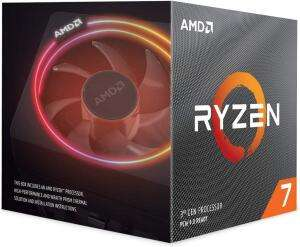 AMD Ryzen 7 3700X Processor With Wraith Prism Cooler (8C/16T, 36MB Cache, 4.4 GHz Max Boost) £259 Delivered @ Amazon sold by CPU-WORLD-UKLTD